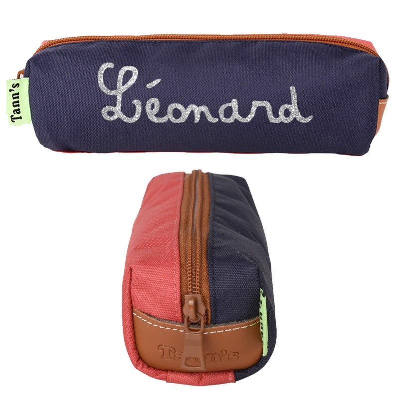 Trousse simple Tann's Bleu-Rouge - 19,90 €