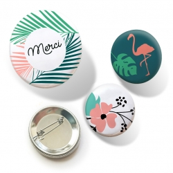 Badges Jungle - 10,90 €