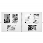 Album photo - Livre d'or 30x30cm Blanc
