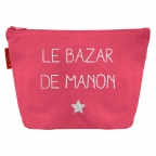 Trousse de toilette Rose grenadine